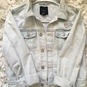 light jean jacket